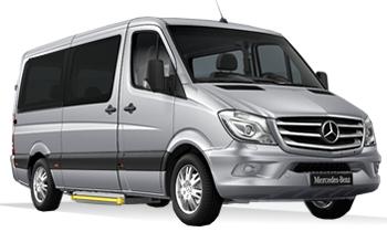 Mercedes Benz Minibus Sprinter/Vito or similar