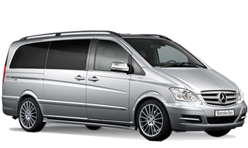 Mercedes Benz Minivan Viano or similar