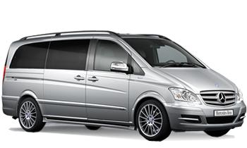 Mercedes Benz Minivan Viano or similar